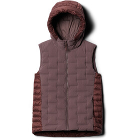 Mountain Hardwear Super/DS Gilet Hybride Femme, warm ash
